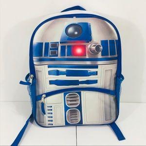 Star Wars R2D2 Backpack Blue & Gray